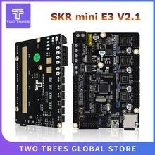 Duas árvores skr mini e3 v2.1 32bit placa de controle com tmc2209 uart driver peças impressora 3d mergulho skr v1.3 e3 para creality ender 3