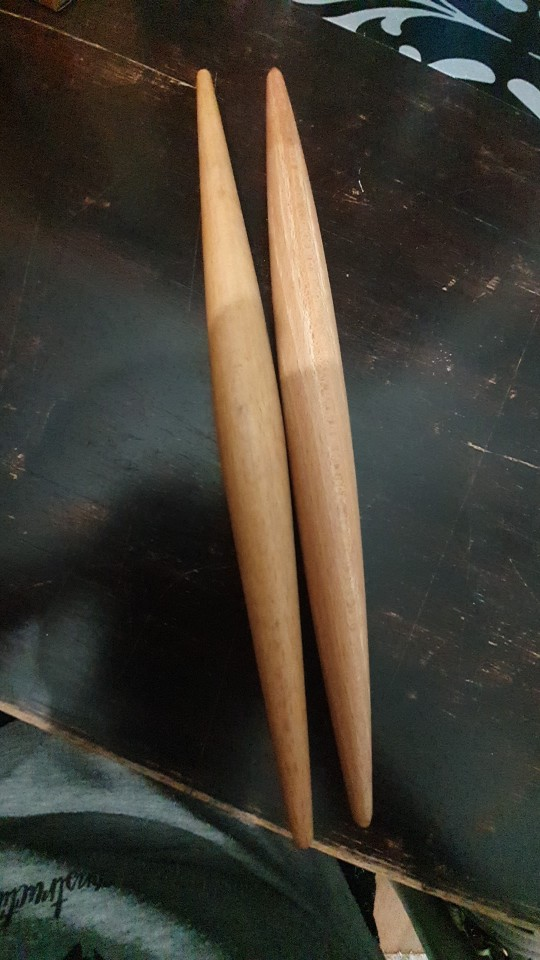 Double Polished Wood Rolling Pin photo review