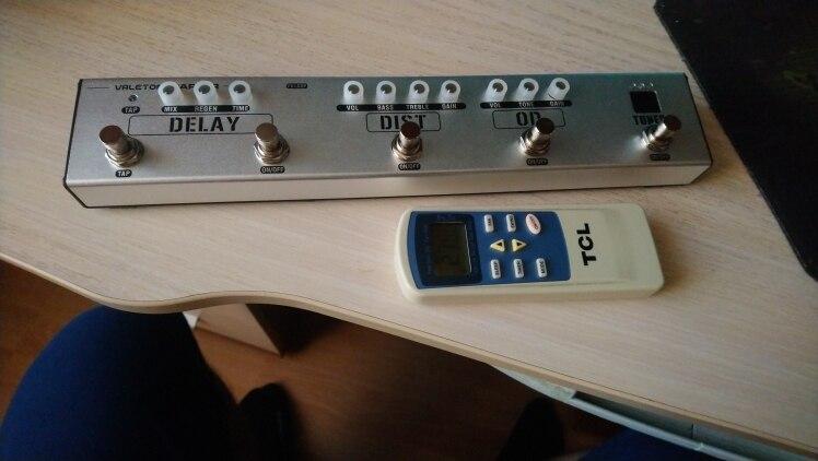 Peças e acessórios p/ guitarra Distorção Distorção Sintonizador
