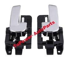 Interior Maçaneta Da Porta Direita Esquerda 80670-JD00E 80671-JD00E para 2007-2015 Qashqai Nissann MK1 80670JD00E 80671JD00E Acessórios Do Carro