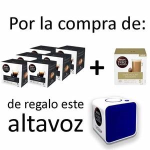 Pack 6 intense Espresso + latte Delicato + Gift speaker