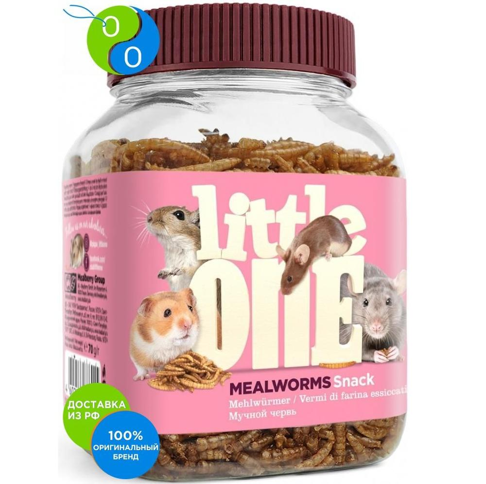 Little Van goodies for omnivorous rodents Flour worm 70g,Little Van, Little Van, litlvan, Little Van, littlvan, Little Van, Treats for the animals, vkusnuypirogek for rabbits, sticks for animals, edible sticks, caring goodies