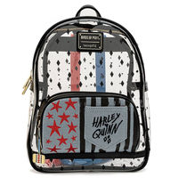 Backpack Birds of Prey Harley Quinn DC Comics Loungefly 30cm
