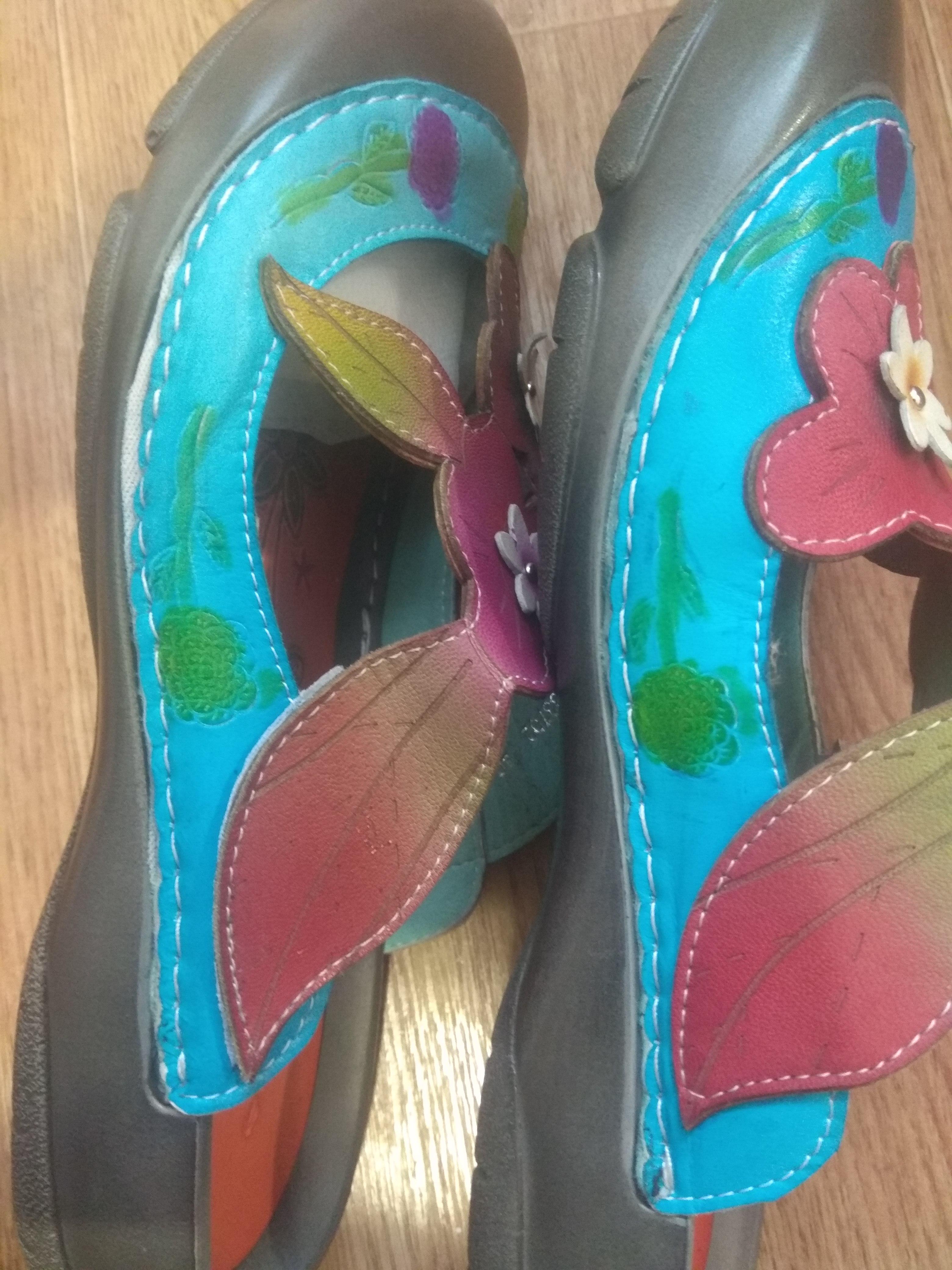 -- Sandálias Casuais Vintage
