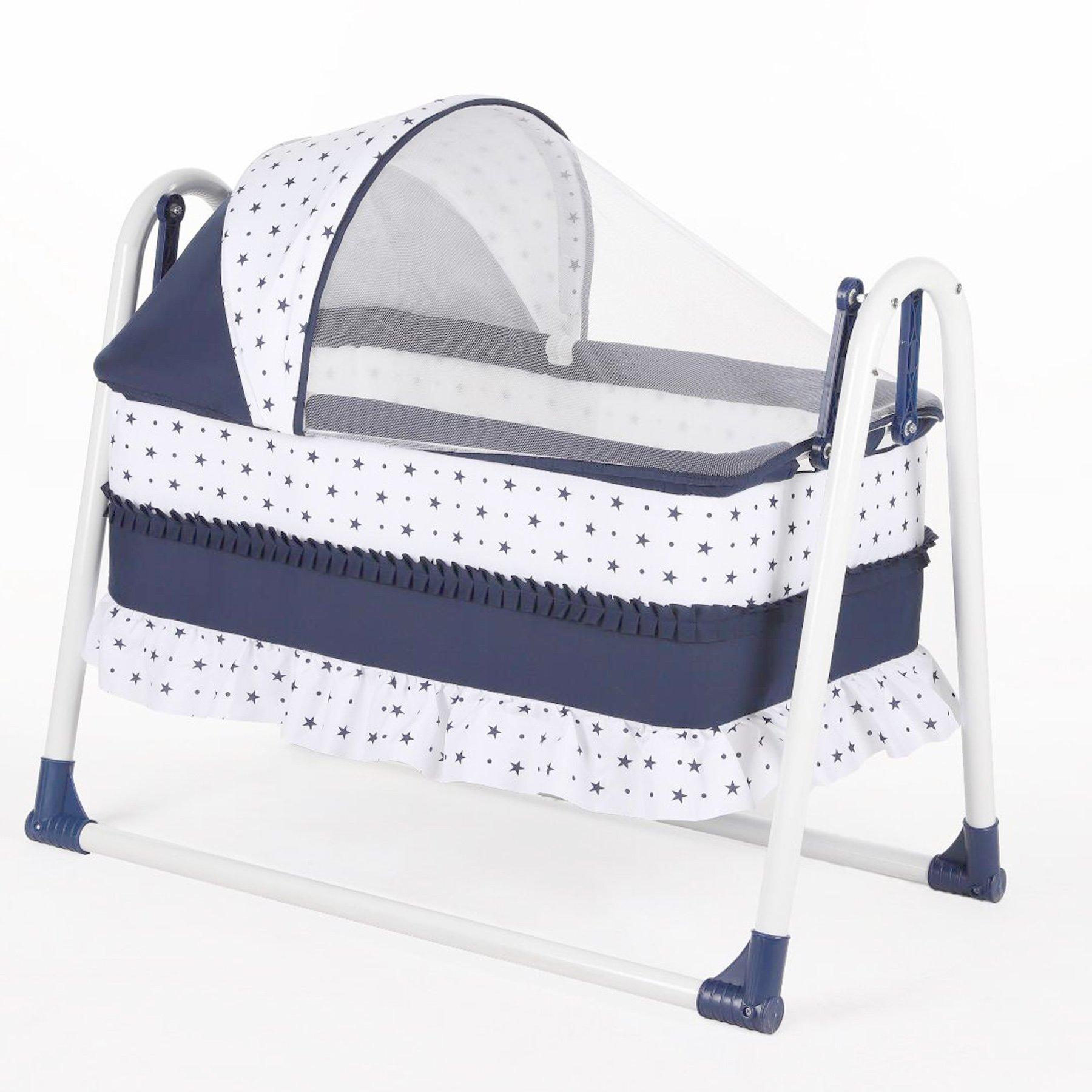 Bebegen Elite Portable Rocking Baby Crib Laci
