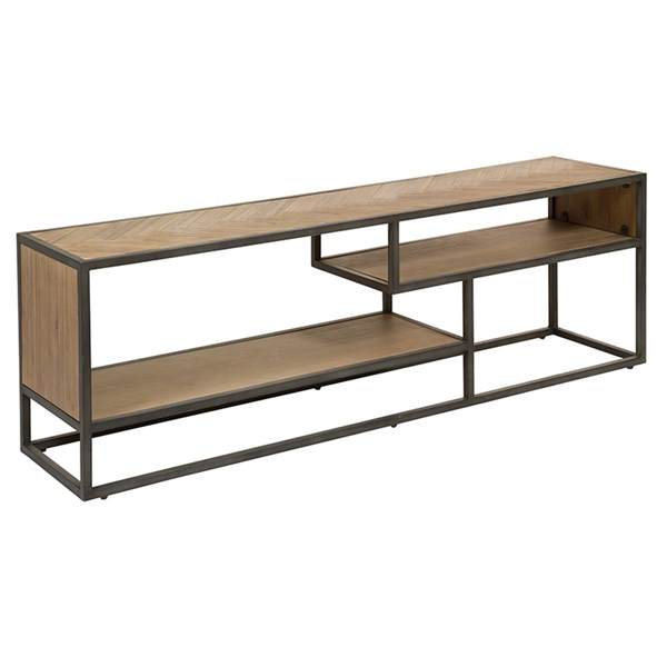 TV masası (160x35x50 cm) akasya title=