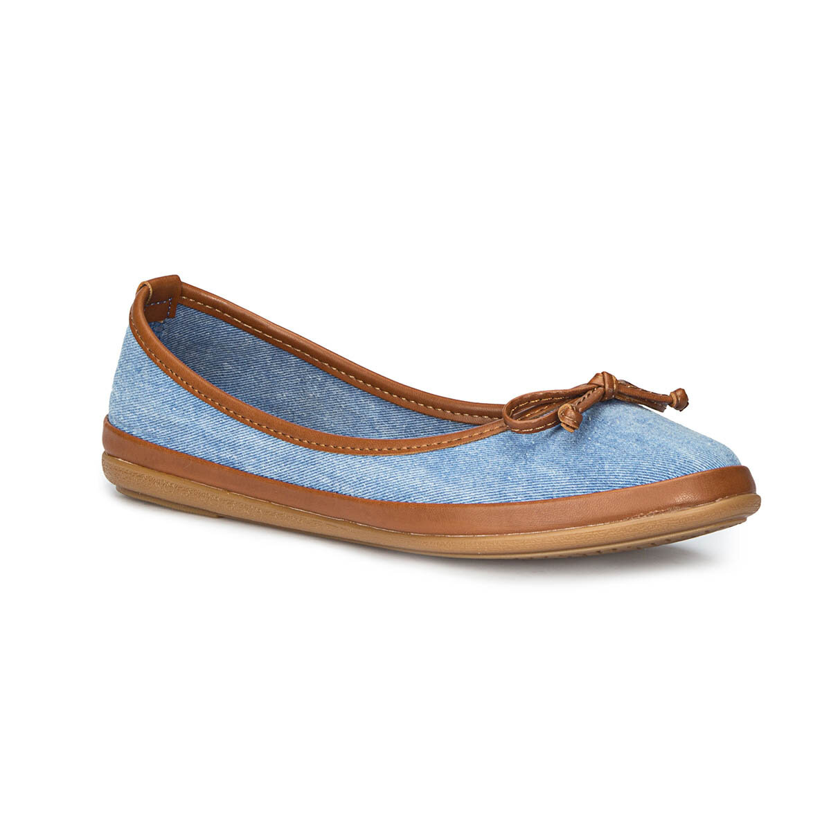 FLO 71.155537TZ Blue Women 'S Ballerina Polaris