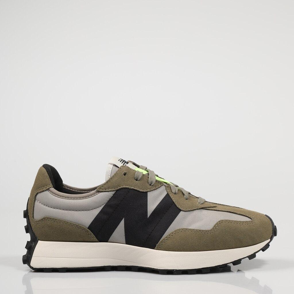 Zapatillas New Balance MS327 75354 421061175354 En Kaki Black Green Original Leather 2021