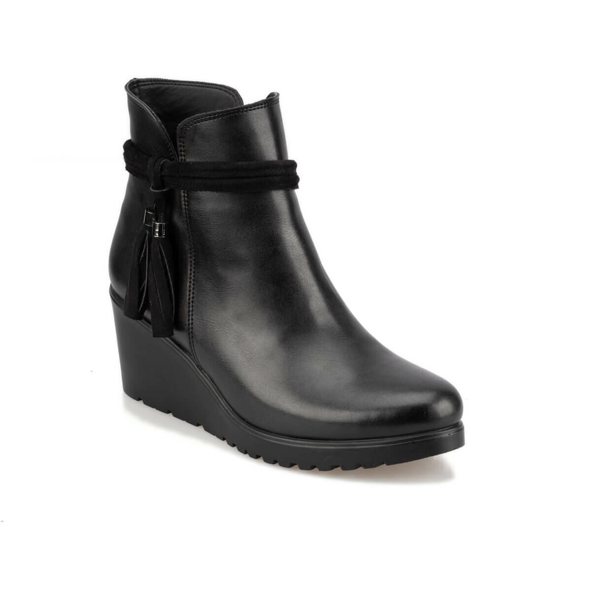 FLO 92.314265.Z Black Women Boots Polaris