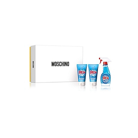 MOSCHINO FRESH COUTURE EDT 50ML + BODY LOTION 50ML + GEL 50ML