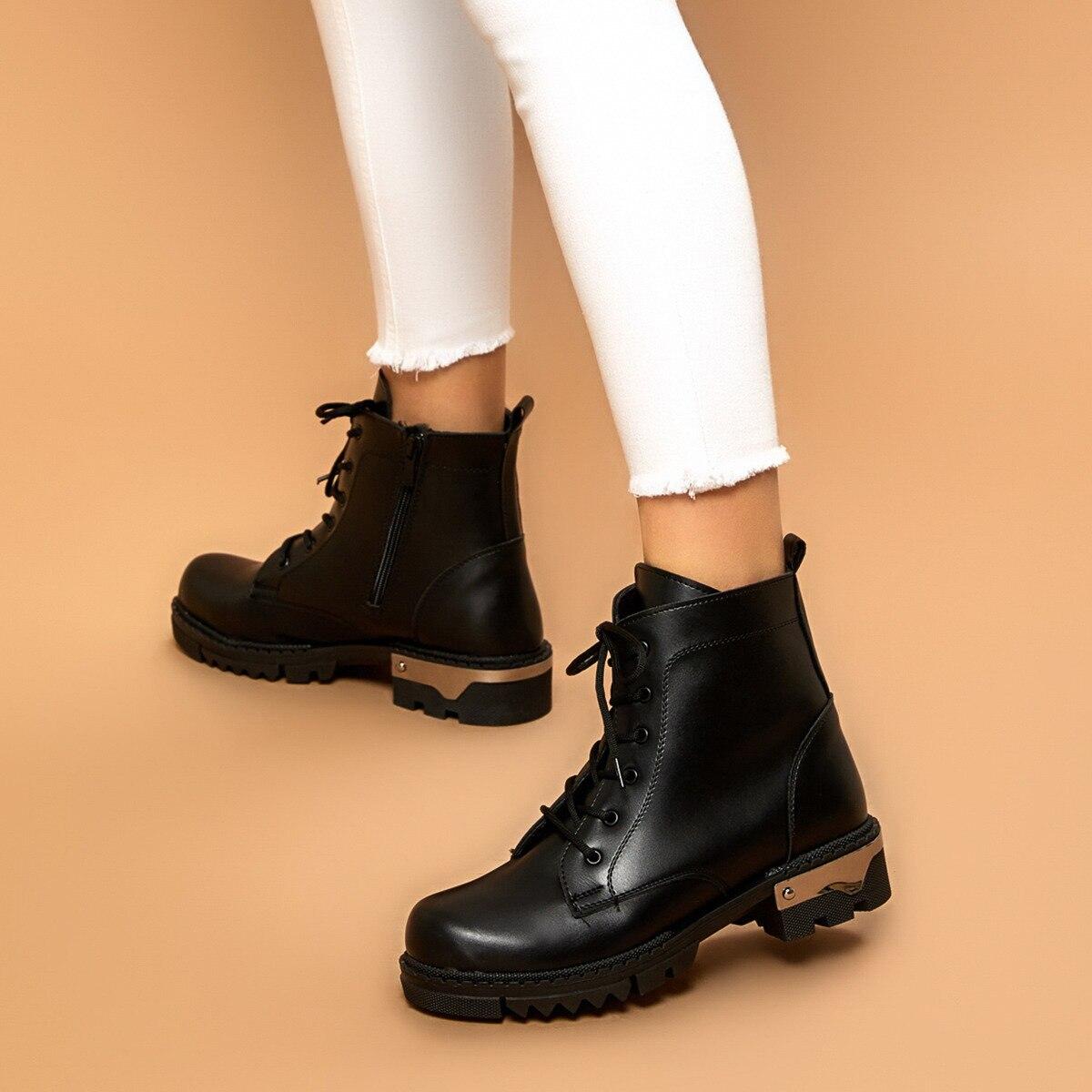 FLO ELANTRA Black Women Boots BUTIGO