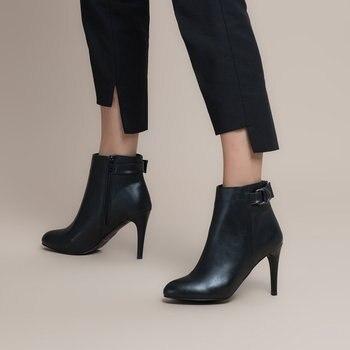 FLO 19K-923 Black Women Boots BUTIGO