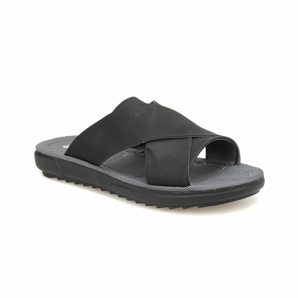 FLO CMPR-2 Black Male Sandals Panama Club