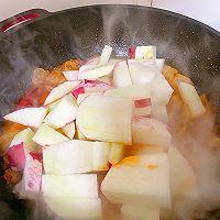 此季节最馋人的㊙️五花肉炖萝卜白菜的做法图解11