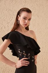 Trendyol Waist Detail Dress TPRSS20EL1180