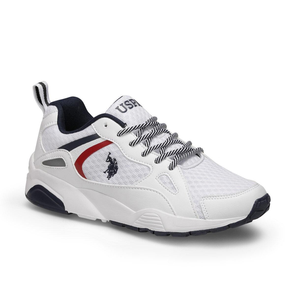 FLO BERLINGO White Women 'S Sneaker Shoes U.S. POLO ASSN.