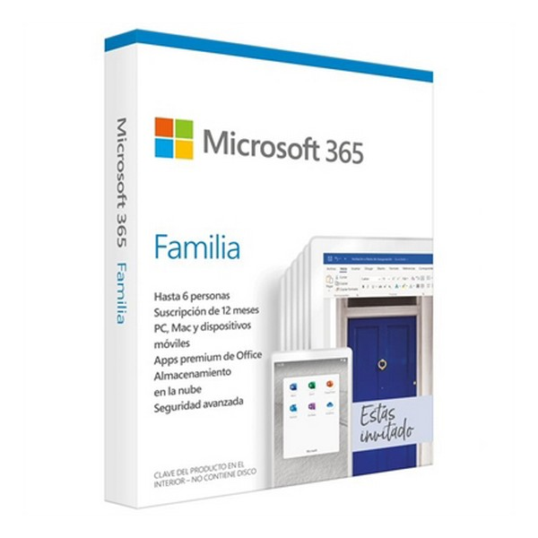 Microsoft Office 365 Home Microsoft 6GQ-01167 (6 Licences)