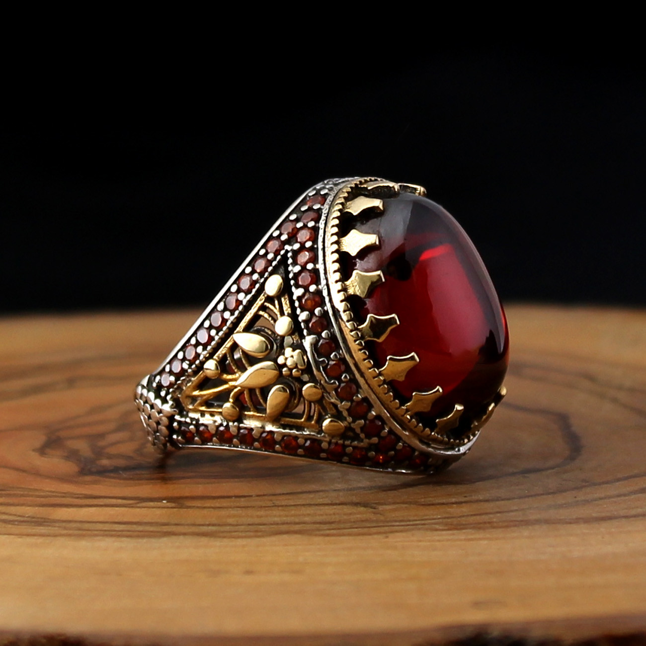 Turkish jewelry 925 Sterling Silver no stone handmade Mens Man Ring ALL SİZE us