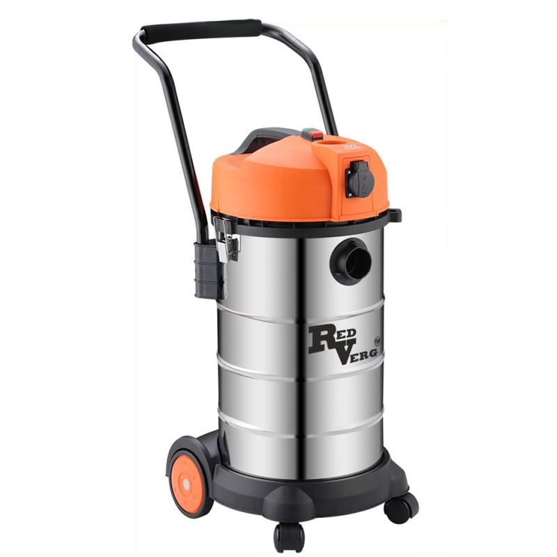 Electric vacuum cleaner RedVerg RD-VC9540 (Power 1200 W dust capacity 40l protection overflow tank) hammer drill electric redverg rd rh1500 power 1500 w drilling in concrete to 36mm антивибрационная system