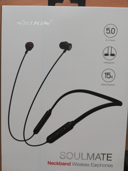 NILLKIN true wireless Bluetooth earphone 5.0 neckband headphone microphone Metal Magnetic Headset Earbuds Gaming Running sport-in Phone Earphones & Headphones from Consumer Electronics on AliExpress