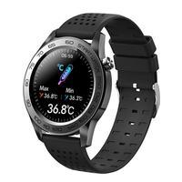 Reloj inteligente F22U, deportivo con Bluetooth, control del ritmo cardíaco y de la temperatura corporal, rastreador de Fitness con GPS, resistente al agua