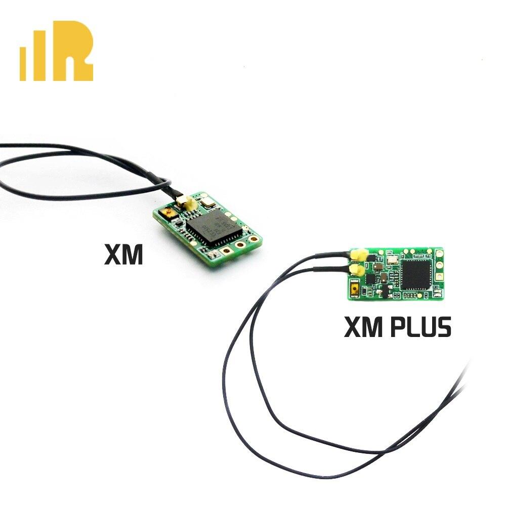 Frsky xm mais mini receptor até 16ch 1.6g gama completa apto para micro zangão