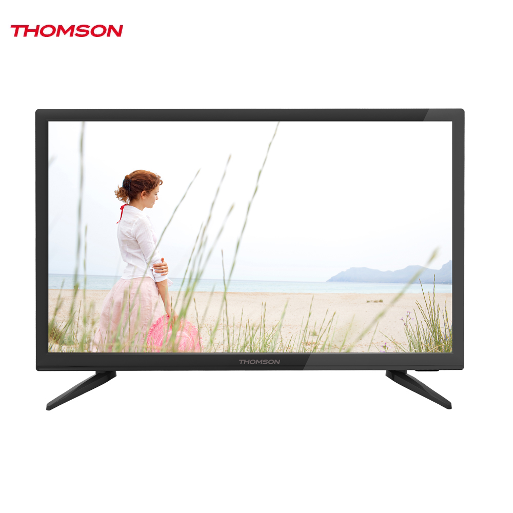 LED Television Thomson 1271589 smart tv for home dvb-t2 digital 22inch thomson t32d19dhs 01b t2 smart