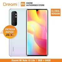 Global Version Xiaomi Mi Note 10 Lite 6GB RAM 64GB ROM (Brnad New / Sealed) note10, note10lite, 64, Telephone mobile