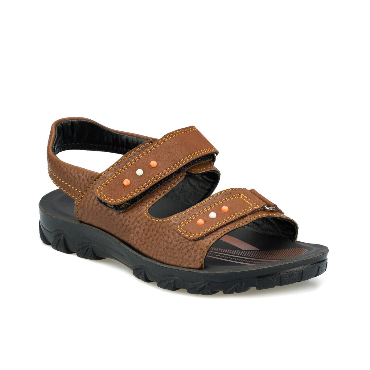 FLO 512537.F Tan Male Child Sandals Polaris