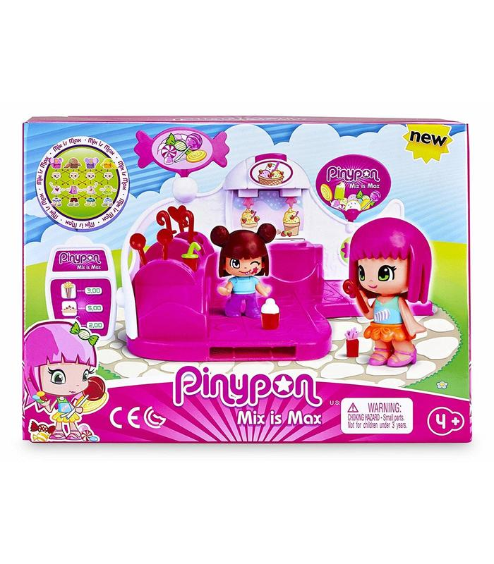 Pin And Pon Sweet Shop Includes 2 Figures And Accessories Toy Store Articles Created Handbook