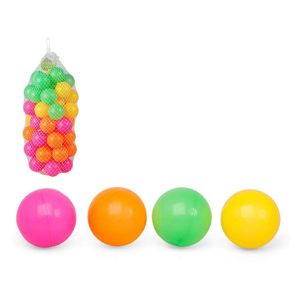 Coloured Balls For Children's Play Area 115692 (40 Uds)