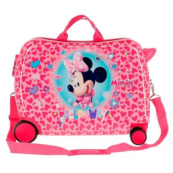 Cabin suitcase rigid Minnie Help from 55cm free shipping from Spain wheels 2 log cabin suitcase man spider dimensions 55x38x20cm free shipping