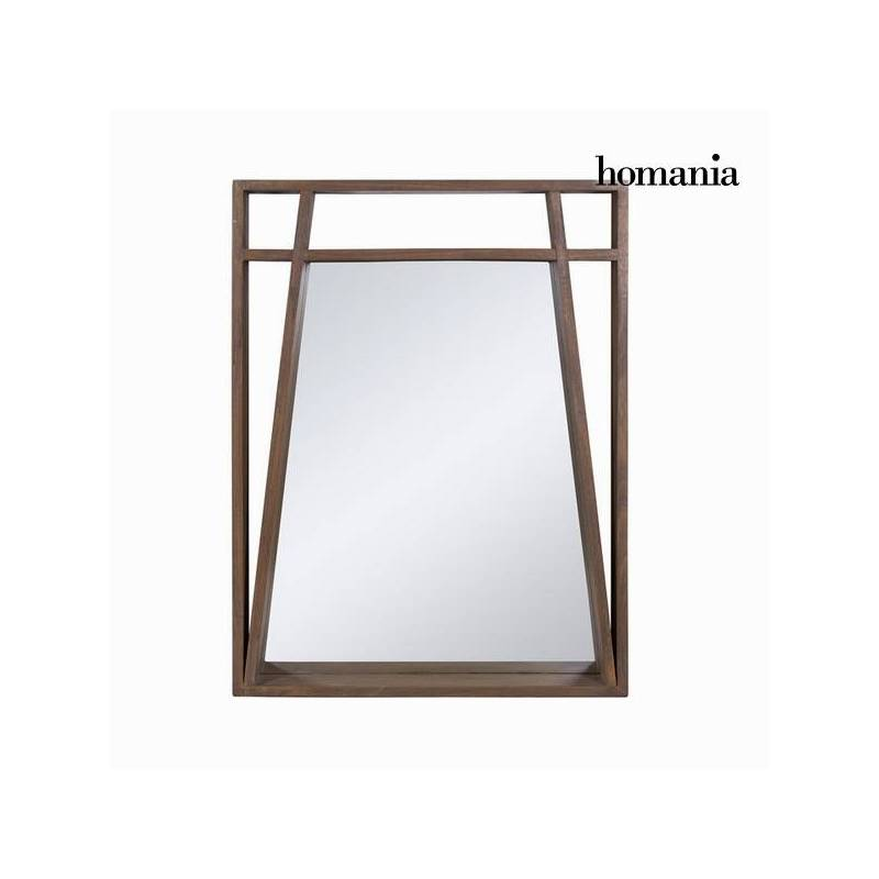 Mirror Wood Mindi (90x70x8 Cm)-The Collection Ellegance By Homania
