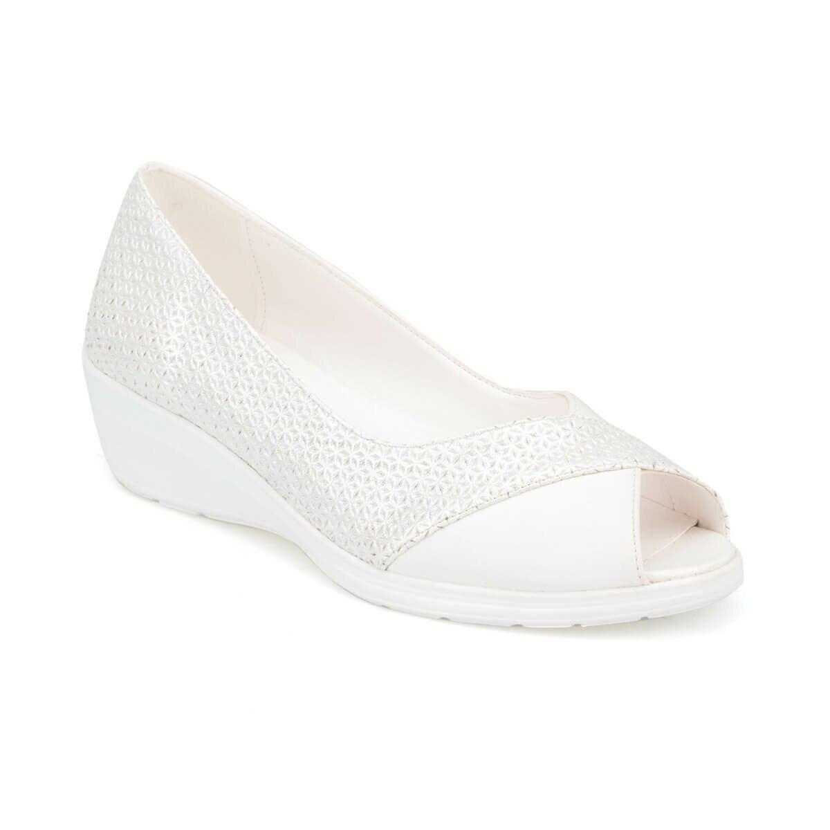FLO 91. 150688.Z White Women 'S Shoes Polaris