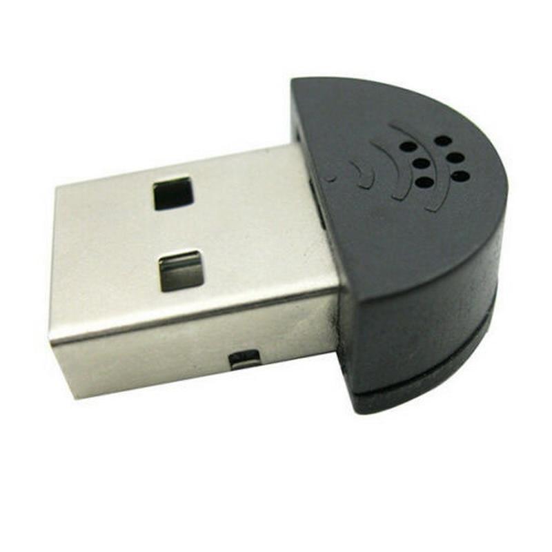 Kphrtek 1pc Mini USB Microphone For Laptop Desktop PC Skype Voice Software Laptop Microphone