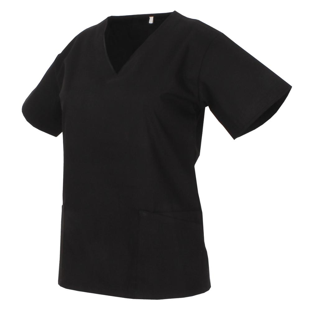 JACKET NECK REFURBISHED SHORT SLEEVE UNIFORM LABOR CLINIC HOSPITAL Medical Scrub Nurse-Ref. Q818