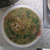 银鱼猪肉汤(麻辣)的做法图解4