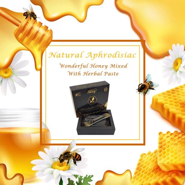 Wonderful Honey VIP Mixed Herbal Paste Maccun for Men Turkish Epimedium Paste Horny Goat Grass, Ginseng Herbal Aphrodisiac 4