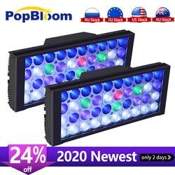 PopBloom Led Aquarium Licht Led Marine Aquarium Led Beleuchtung Riff Led Licht Aquarium Led Tank Licht Für Aquarium Lampe Turing30