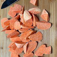 超好吃拔丝地瓜~酥脆和软糯可以兼得的做法图解1