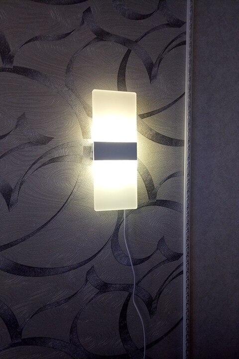 Acrylic Rectangular Wall Lamp photo review