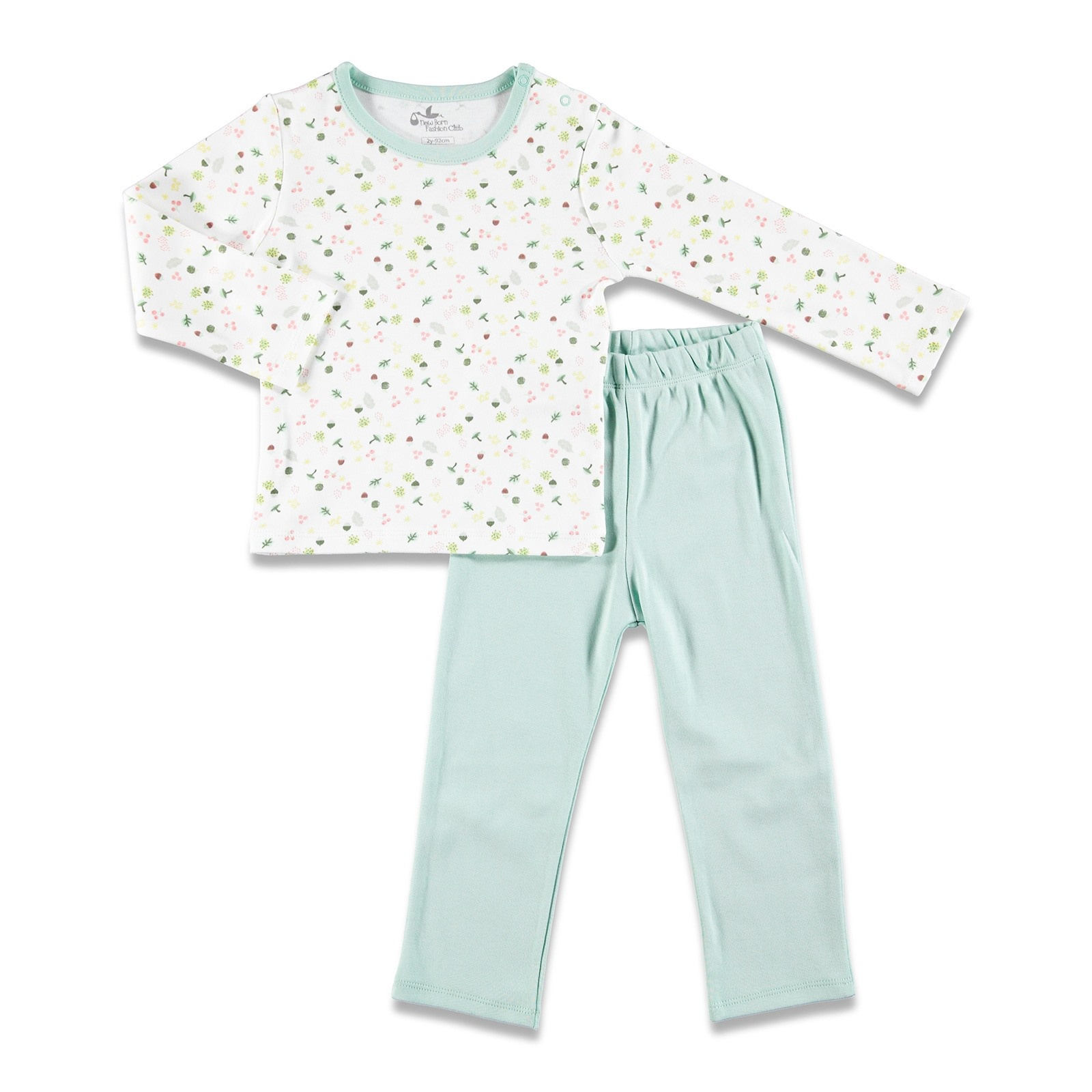 Ebebek Newborn Fashion Club Magical Forest Baby Pyjamas Set