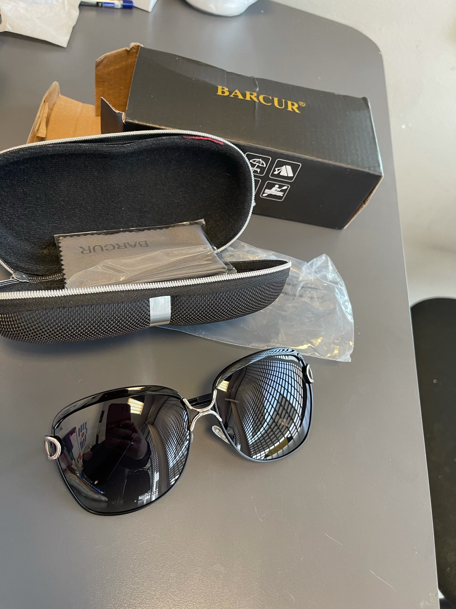 <strong>BARCUR Cinderella</strong> - Polarized Protective Sunglasses For Women photo review
