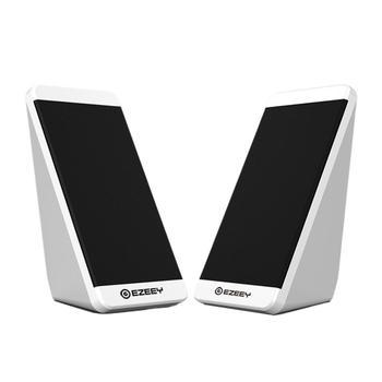 Altavoz de sobremesa S5, 1 par de minialtavoces de ordenador para teléfono...