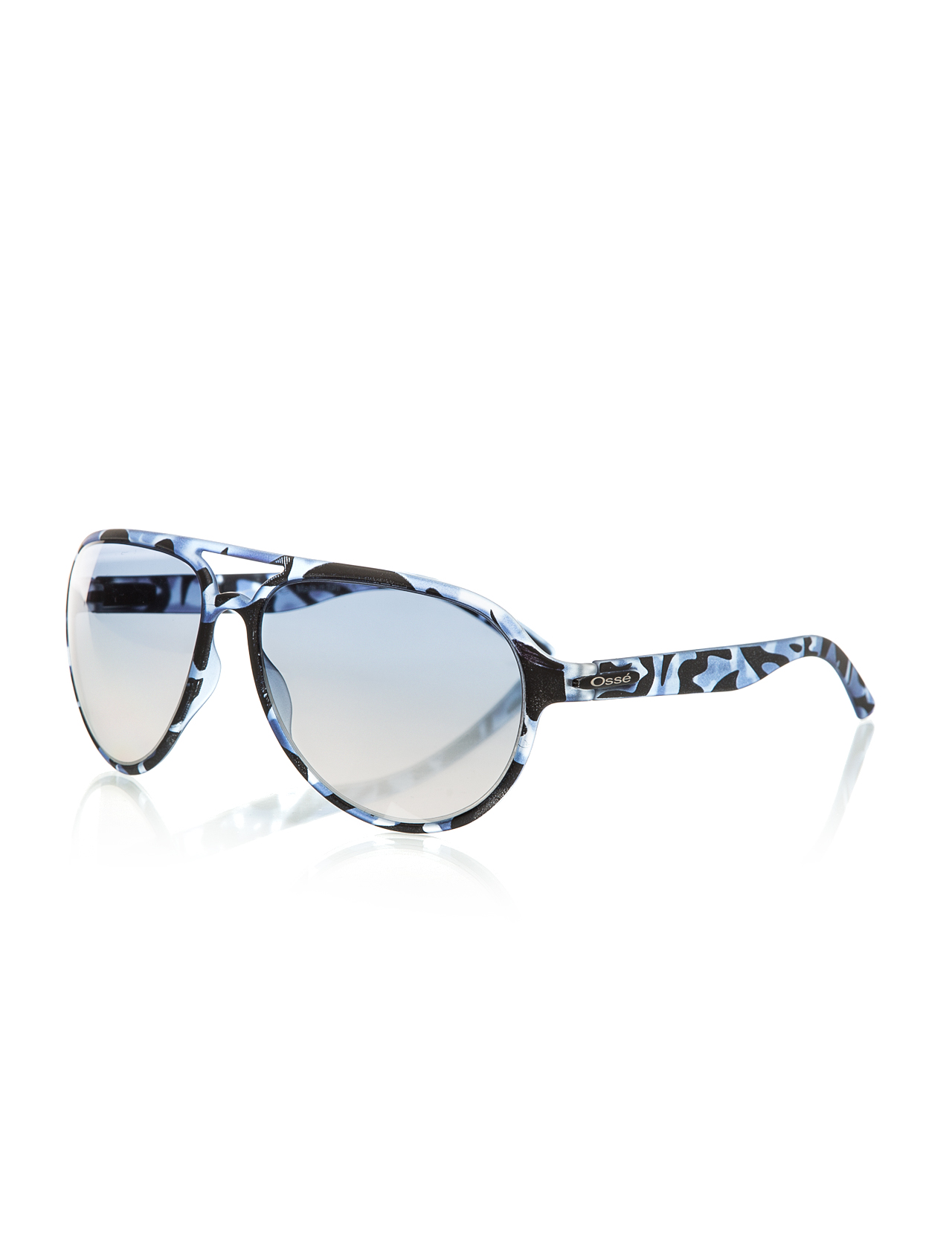Men's sunglasses os 2049 06 bone blue organic drop pilot 60-21-135 osse