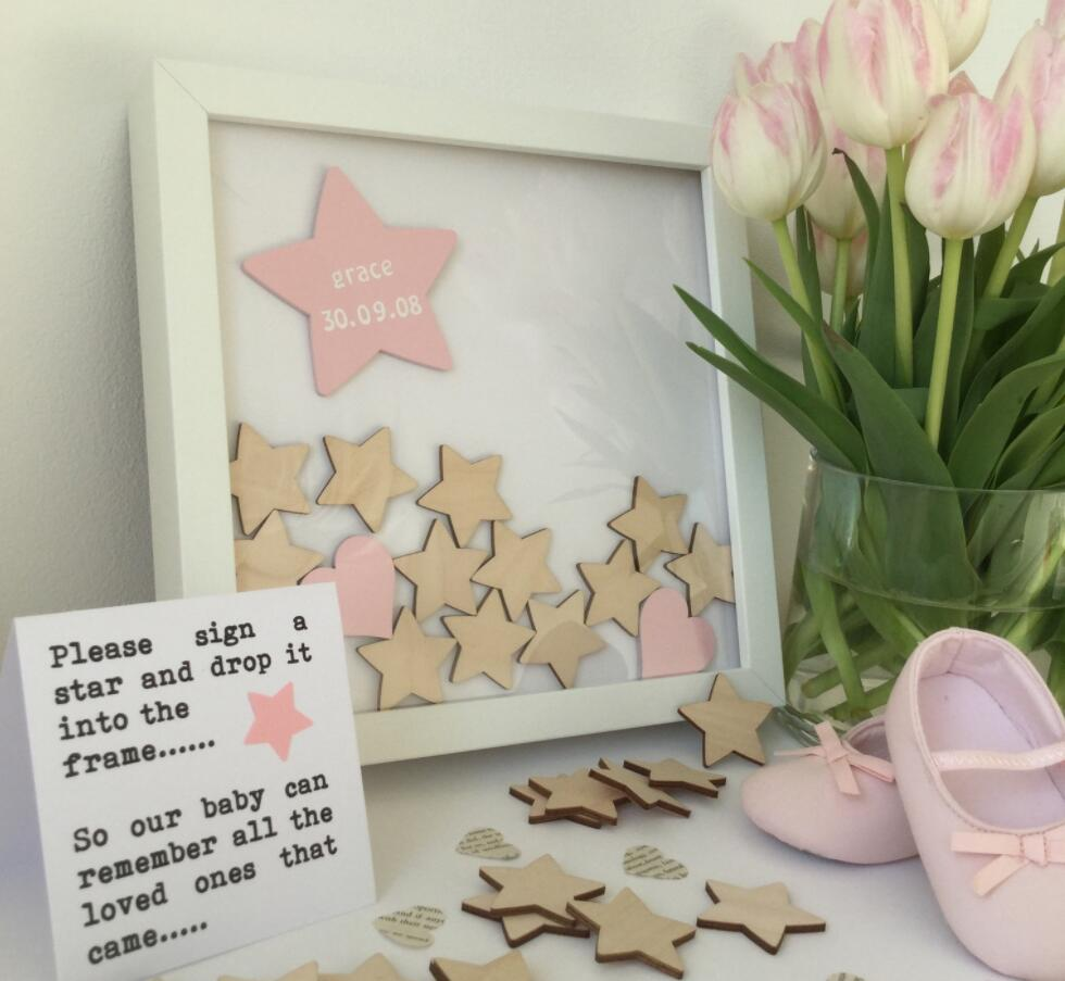 Birthdays //Christening Hen Party Personalised Baby Shower Guest Book Wedding