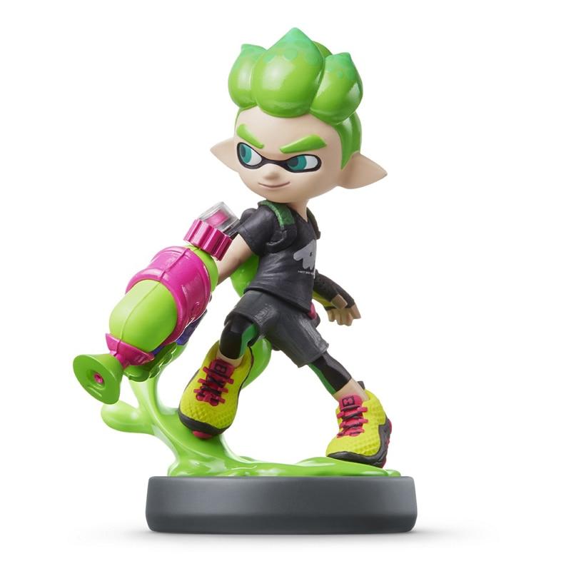 Фигурка Amiibo Инклинг- мальчик неоново зеленый: Коллекция Splatoon (Nintendo)