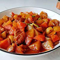蒜辣萝卜豆瓣鸡的做法图解10