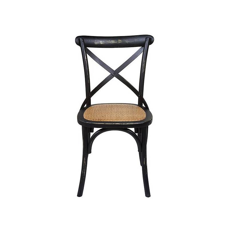 Dining Chair Elm Wood (45x42x88 Cm)