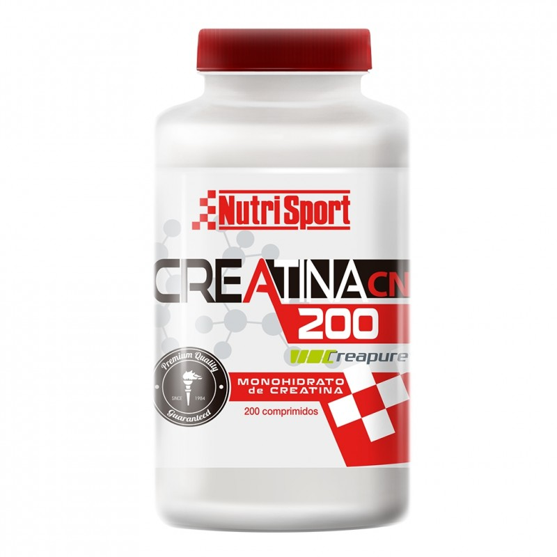 NutriSport creatine monohydrate boat 200 tablets supplement musculo